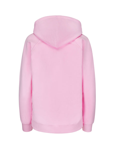 KENZO Women's Giulio Fashion Pastel Pink Two-Tone Tiger Hoodie F952SW7884XE33