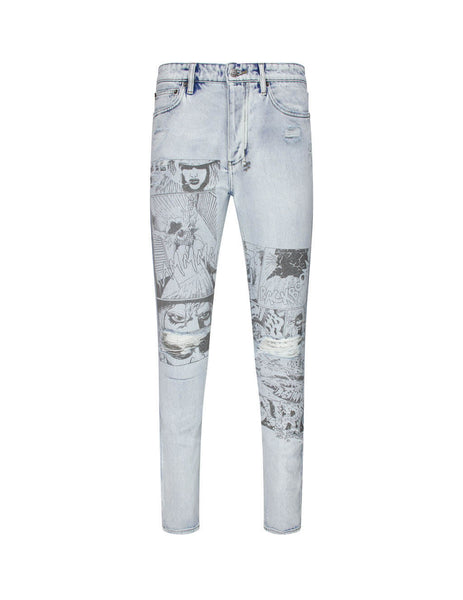 Chitch Comik Slim Fit Jeans