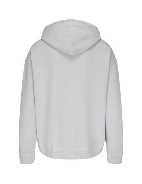 mens ksubi sign of the times hoodie in icekube grey 5000005023
