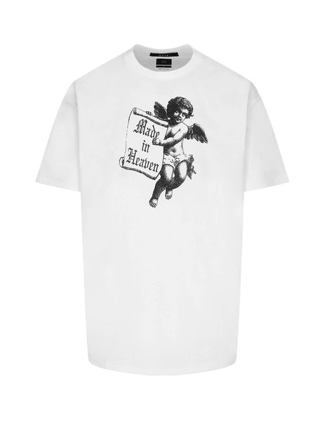 Men's White KSUBI Angel Man T-Shirt 5000004658