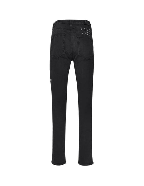 KSUBI Men's Chitch Krow Krushed Black Jeans 5000004388