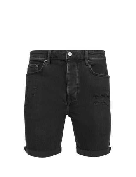 Men's Black KSUBI Chopper Shorts Concrete 5000004545