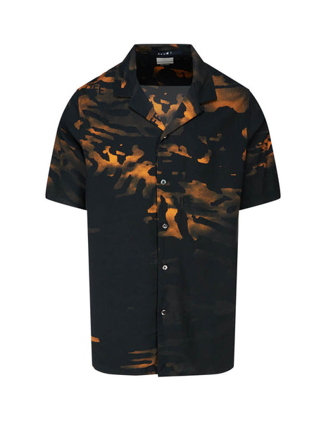 Men's KSUBI Life Resort Shirt in Black. 5000005004