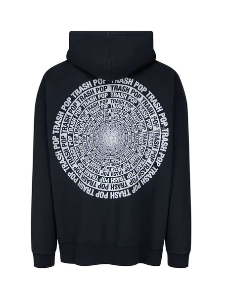 KSUBI Men's Washed Black Subculture Hoodie 5000005391