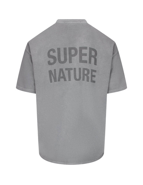 Men's KSUBI Super Ghost T-Shirt in Grey. 5000005016