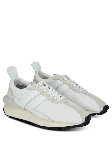 Lanvin Men's White Bumper Sneakers FM-SKBRUC-DRAG-A2000