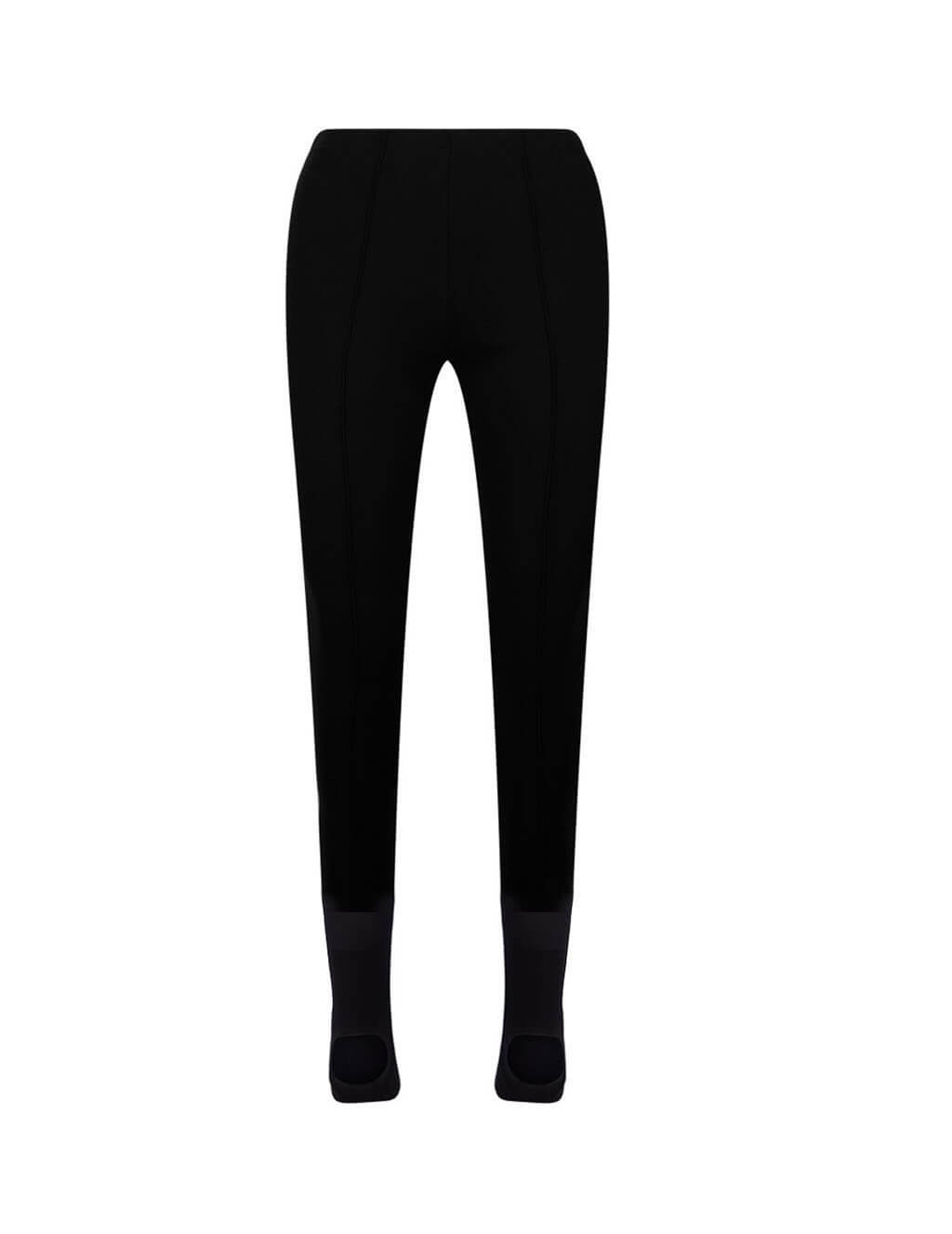 Women's Black Balenciaga Dynasty Leggings 622317TTK211000