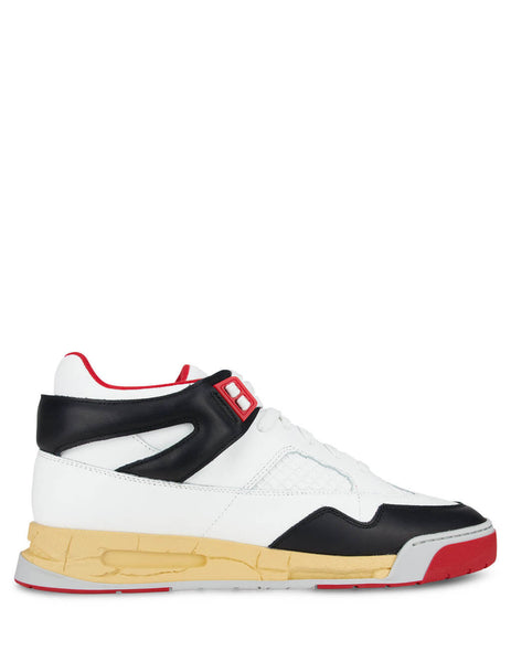 Men's Maison Margiela DDSTCK Sneakers in White/Red/Black - S37WS0561P3712H8316