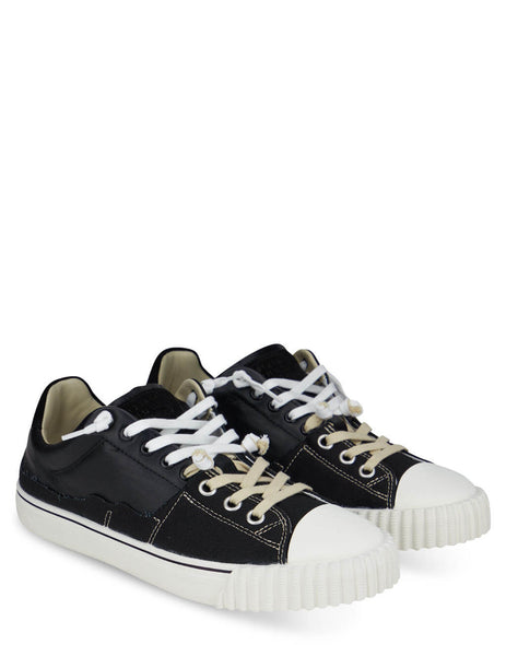 Men's Maison Margiela Evolution Sneakers in Black/White - S57WS0391P4022H8588