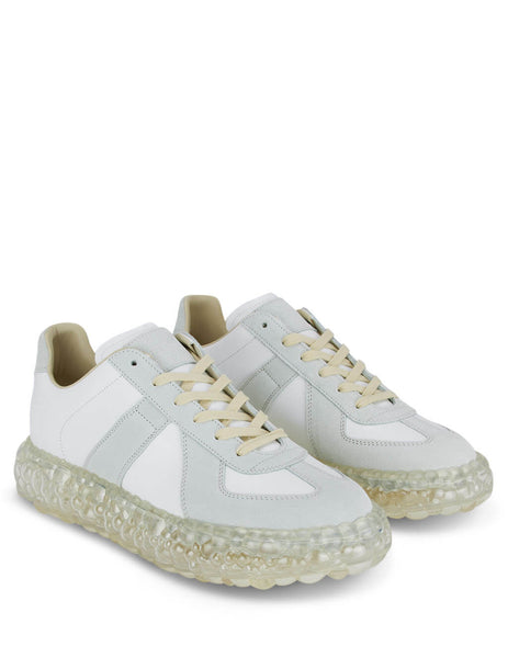 Men's Off White Maison Margiela Replica Caviar Sole Sneakers S37WS0503P1895101