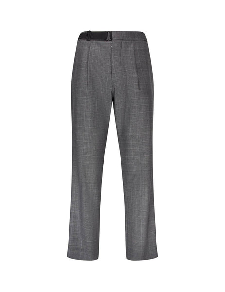 Maison Margiela Men's Giulio Fashion Grey Check Trousers S50KA0472S52003854F