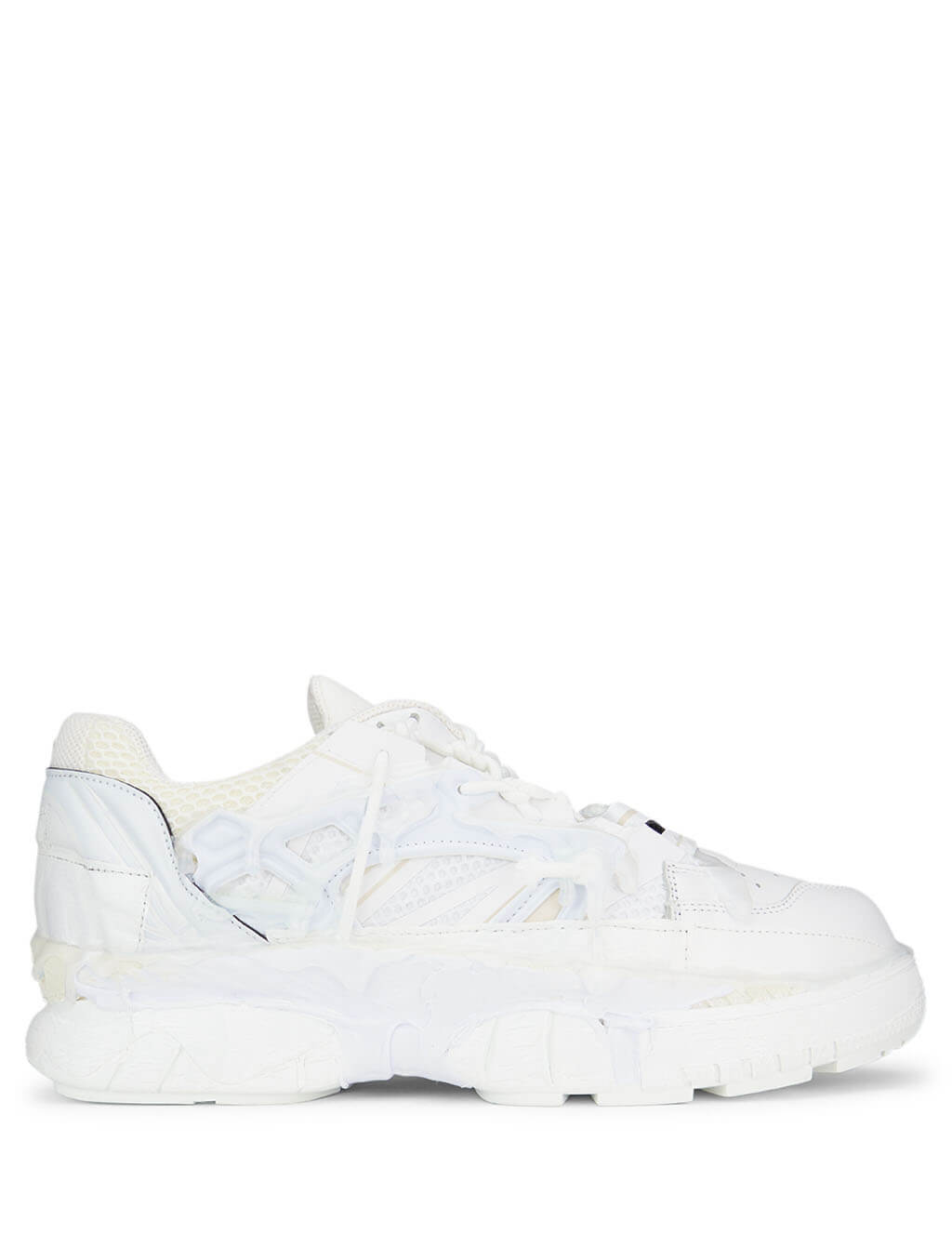 Maison Margiela Men's Giuio Fashion White Fusion Sneakers S57WS0257P2695T1003