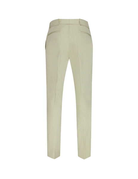 Maison Margiela Men's Sand Pleated Trouser S30KA0579S52699806