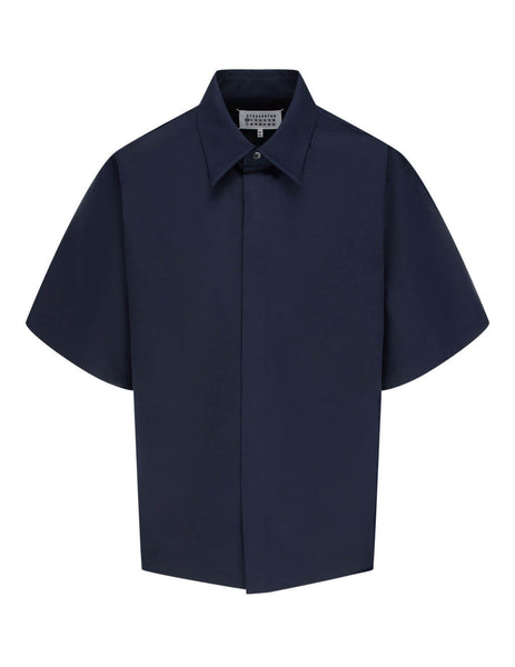 Men's Navy Maison Margiela Relaxed-Fit Shirt S30DL0464S47993524