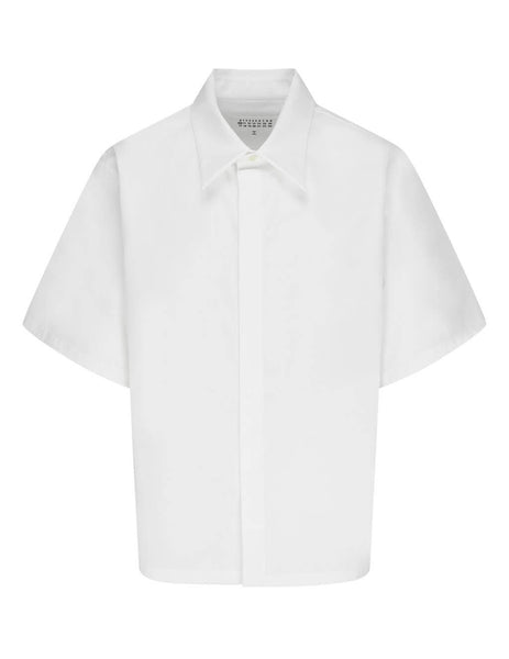 Men's White Maison Margiela Relaxed-Fit Shirt S30DL0464S47993100