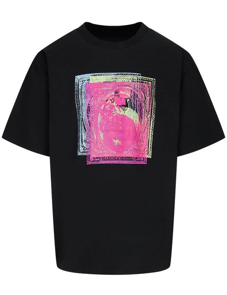Men's Maison Margiela Stamps T-Shirt in Black - S50GC0649S22816900