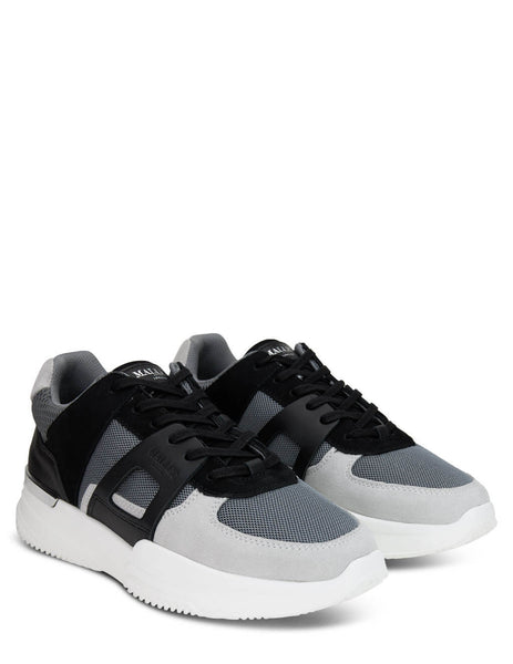 Men's Mallet London Marquess Grey Sneakers - TE3070GRY