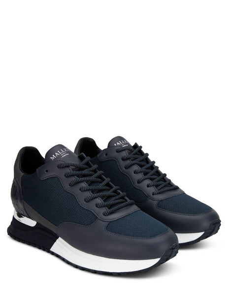 Men's Mallet London Popham Navy Reflect Sneakers - TE2050NVYRF