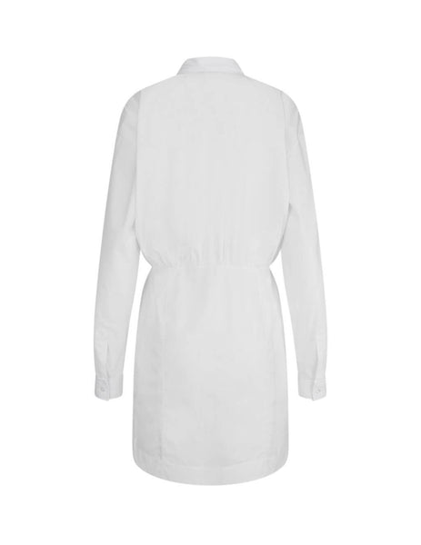Marcelo Burlon Women's Giulio Fashion White County Shirt Dress CWDB109S20FAB0010110