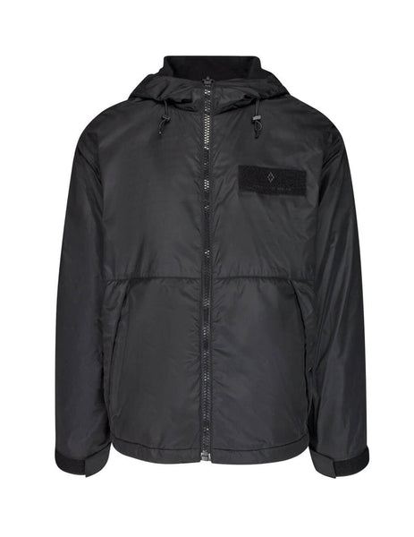 Marcelo Burlon Men's Giulio Fashion Black Wings Windbreaker CMEB023E19B040101088