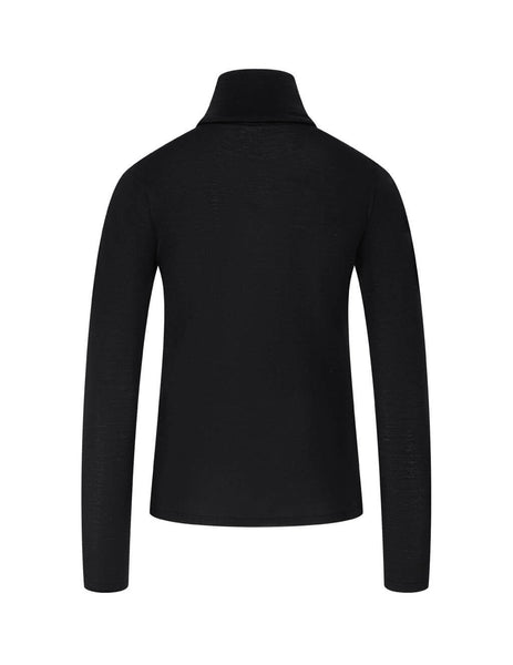 Women's Max Mara Saluto Jumper in Black. 13661603600-006