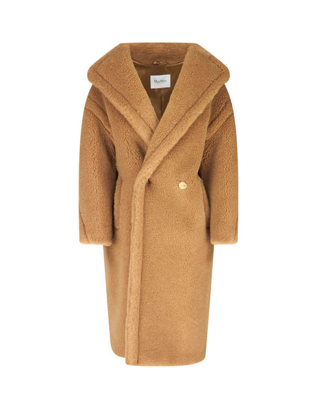 Max Mara Women's Camel Teddy Coat 10162103699001