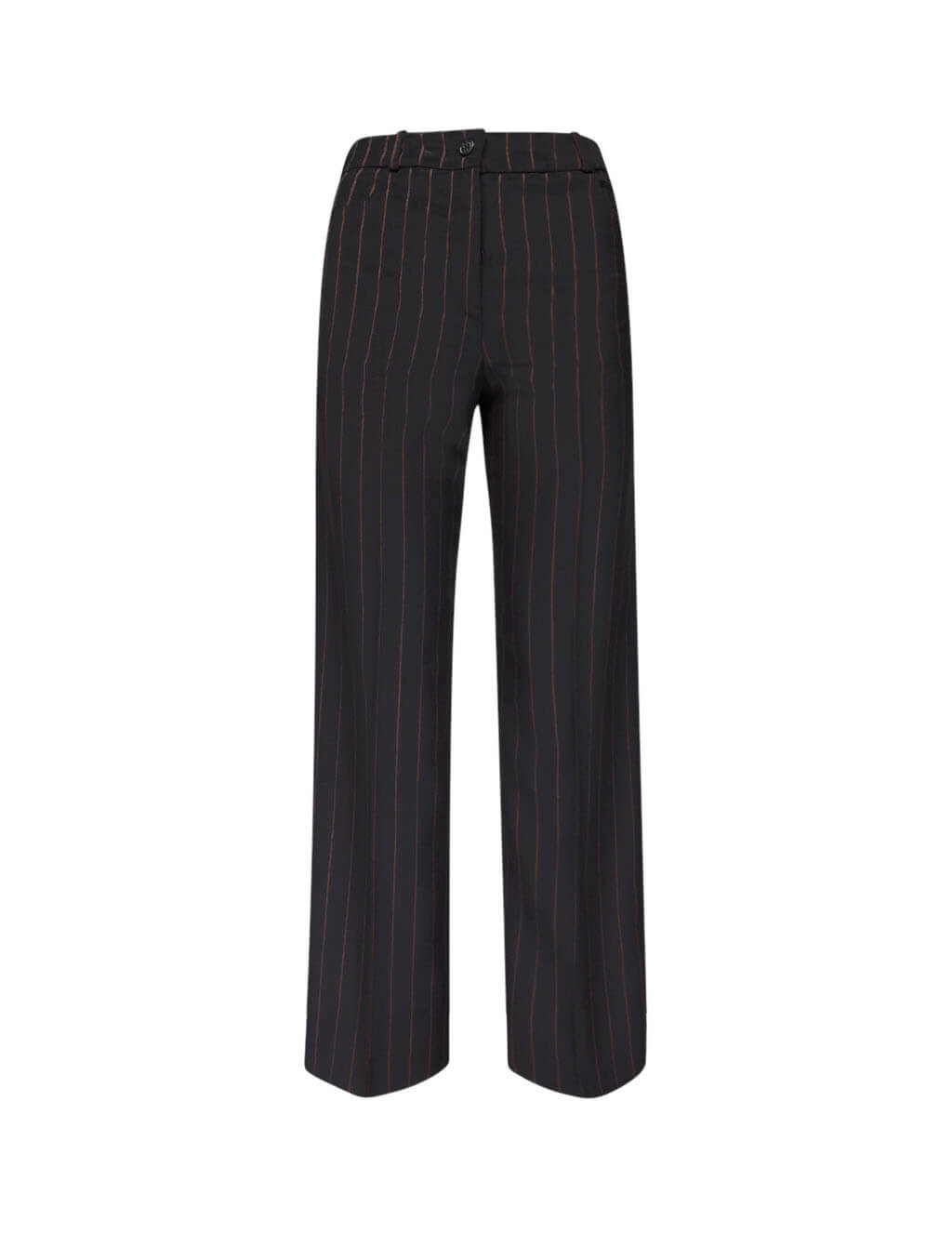 McQ Alexander McQueen Women's Giulio Fashion Black Decon Pin Trousers 566044RNQ321060