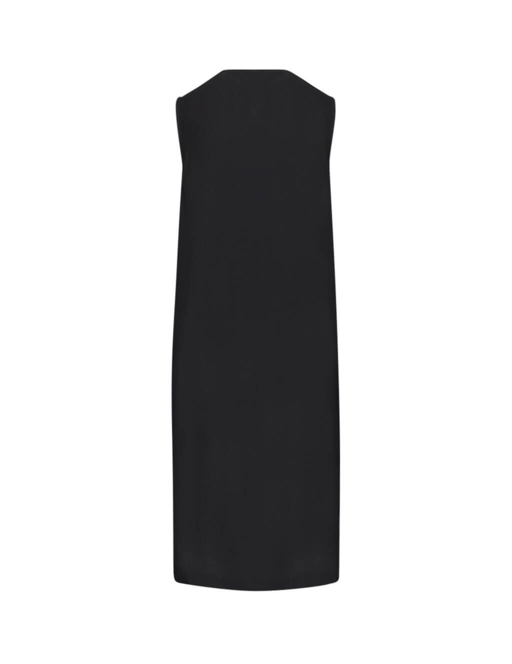 McQ Alexander McQueen Women's Giulio Fashion Black Hybrid Tank Dress 567009RNF051038