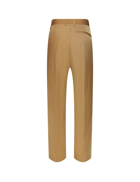 MM6 Maison Margiela Women's Giulio Fashion Camel Nylon Trousers S52KA0266S53087131