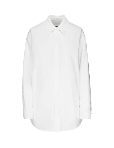 MM6 Maison Margiela Women's Giulio Fashion White Oversized Shirt S62DL0009S47294100