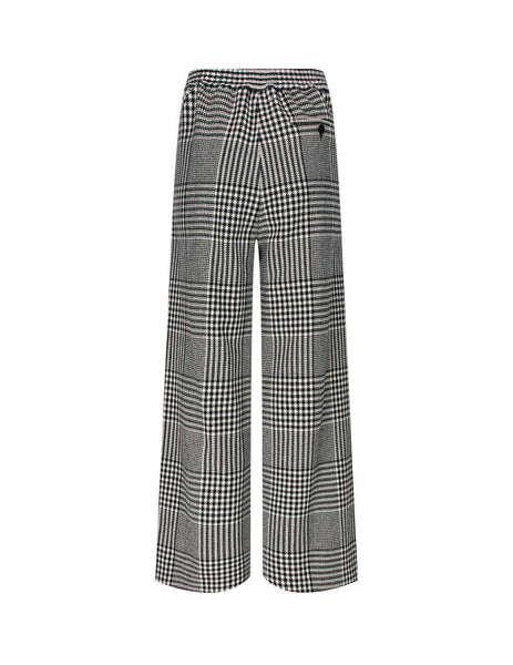 MM6 Maison Margiela Wide Leg Check Trousers S62KB0057S53394001F