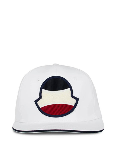 Moncler Men's White Baseball Hat 0913B70000V0088001