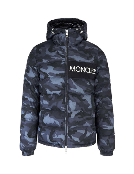 Moncler Camouflage Padded Coat Black 4188405549x4990 Men's Giulio Fashion