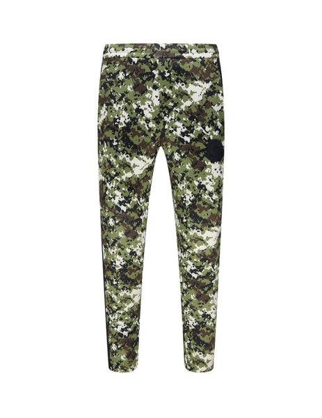 Men's Moncler Camouflage Pattern Sweatpants in Dark Green - 0918H72400829HN830
