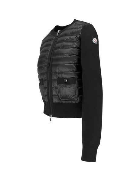 Moncler Women's Black Cardigan Jacket 0939B50100A9001999