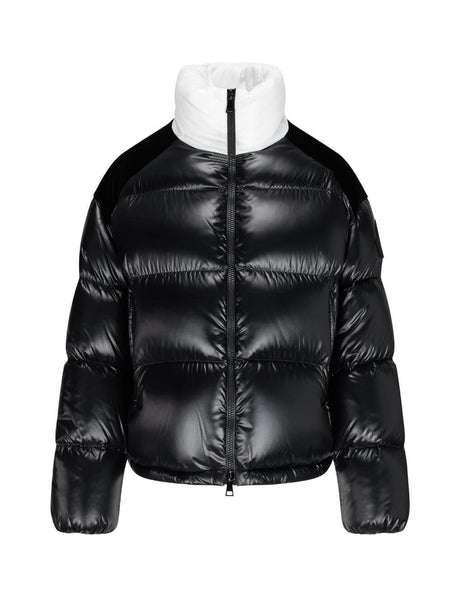 Women's Moncler Chouelle Jacket in Black/White. 0931A52B00C0232999