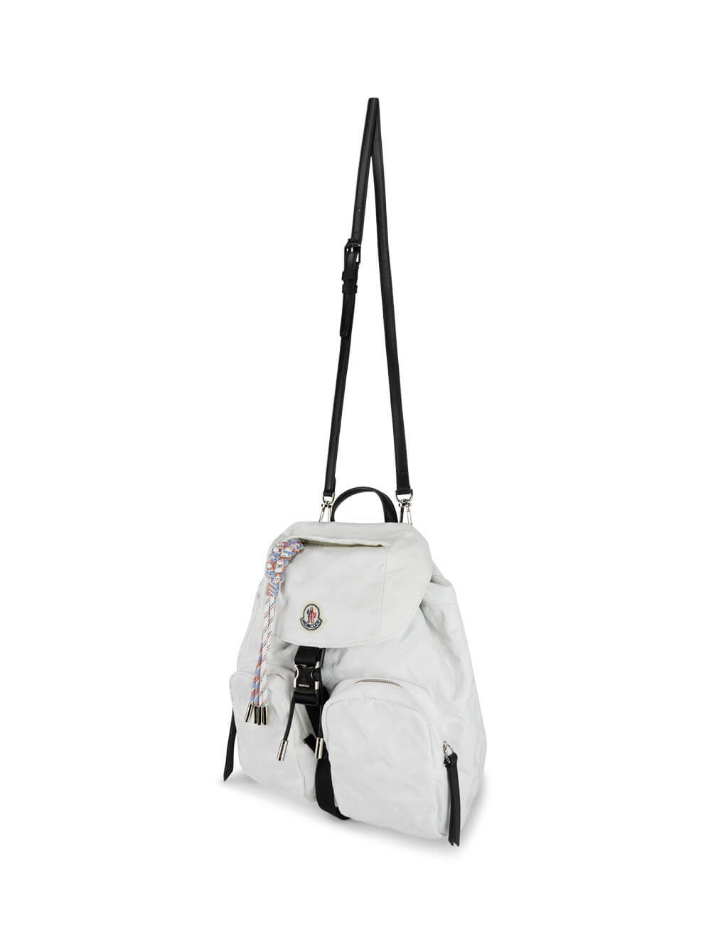 Women's White Moncler Dauphine Large Backpack 09B5A7001002SA9034