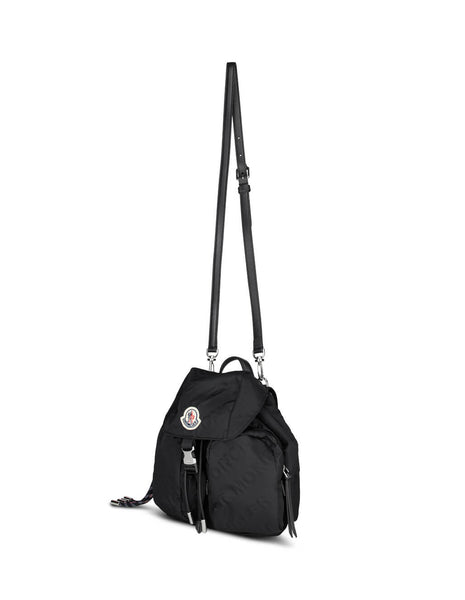 Moncler Women's Giulio Fashion Black Dauphine Small Backpack 09B5A7010002SA0999