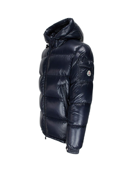 Men's Navy Blue Moncler Ecrins Jacket 0911A5450068950742