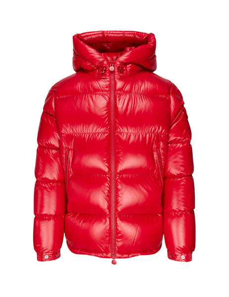 Moncler Men's Giulio Fashion Red Ecrins Jacket 0911A5450068950455
