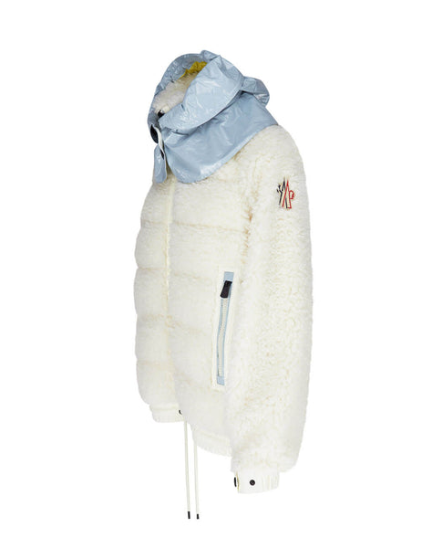 Moncler Grenoble Cream Contrast Hood Jacket 0988G50300899A9041