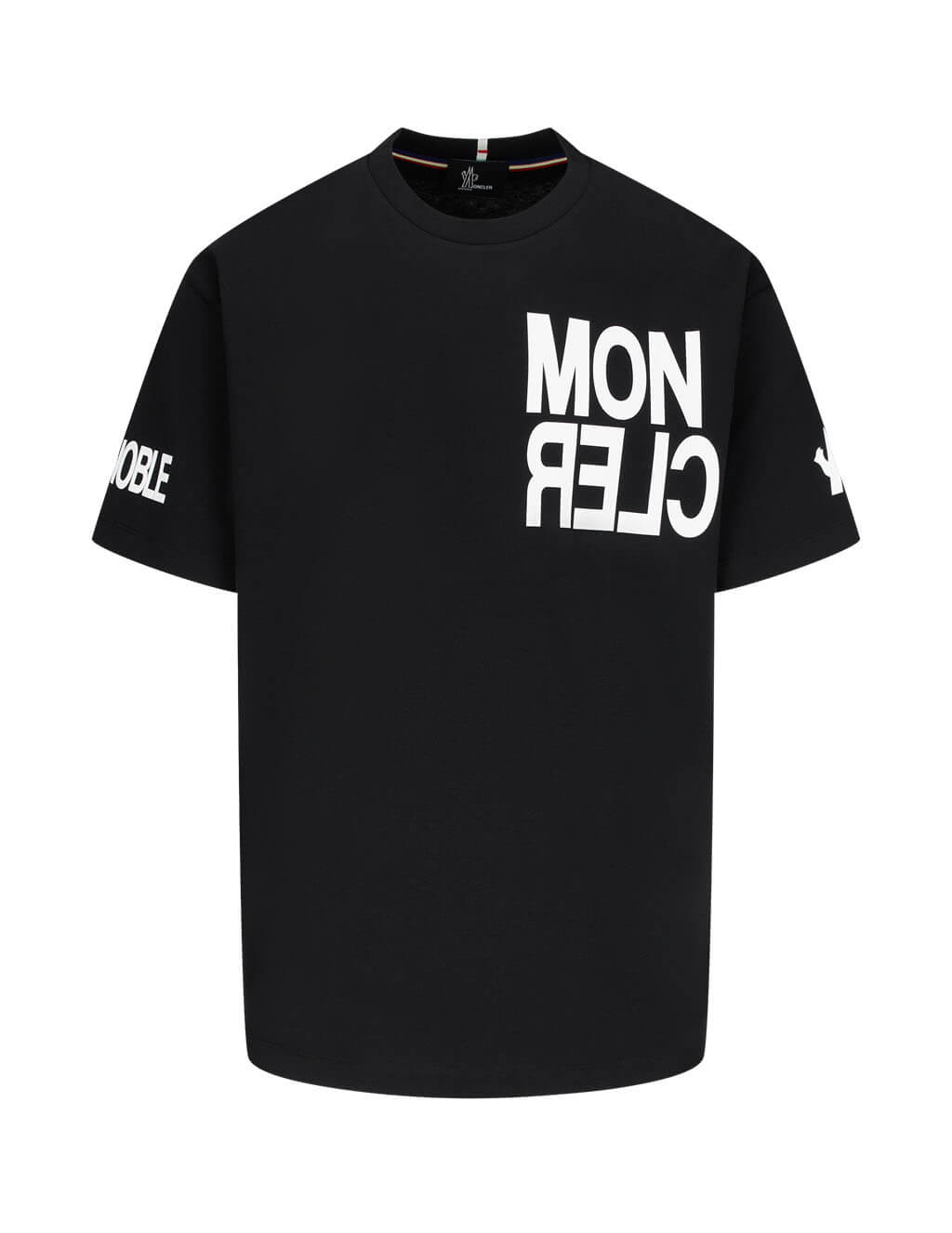 Men's Moncler Grenoble Hashtag Grenoble T-Shirt in Black - 0978C705208390T999