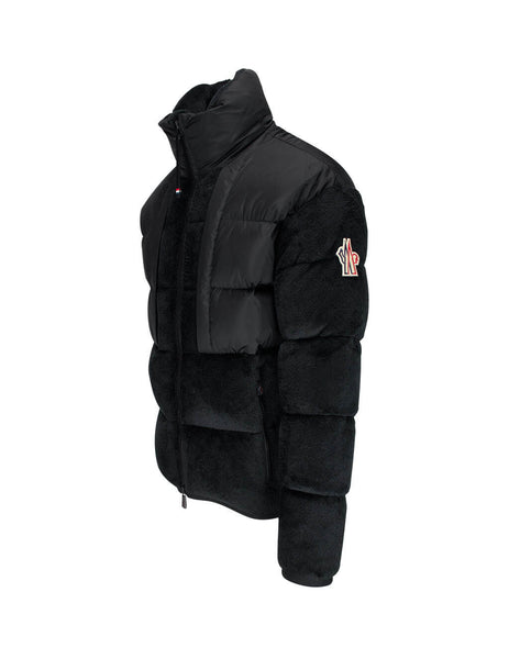 Men's Moncler Grenoble Nylon Panel Jacket in Black - 0978G50700809EG999