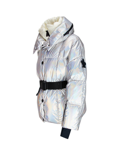 Moncler Grenoble Women's Silver Ollignan Jacket 0981A5050054AMT900