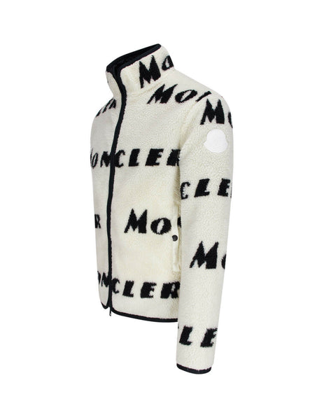Moncler Men's White Reversible Zipped Jacket 0918G77000899AJ090