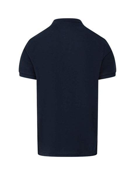 Moncler Men's Giulio Fashion Navy Short Sleeve Polo Shirt  0918A7110084556773