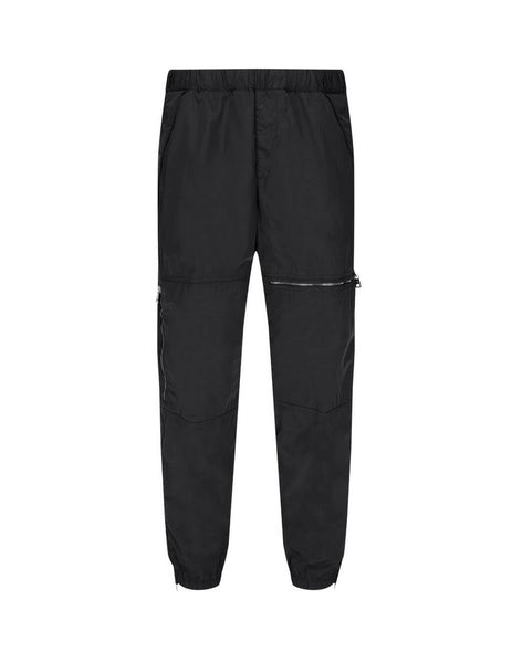 Men's Moncler 5 Pocket Trousers in Black. 0912A7510053705999