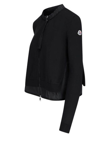 Women's Moncler A-Line Cardigan in Black - 0939B71100V9134999