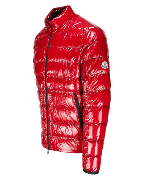 Men's Moncler Agar Jacket in Red - 0911A52O0053A5T455