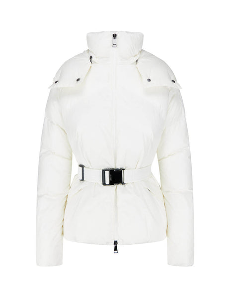Women's White Moncler Aloes Jacket 0931A54600C0068035
